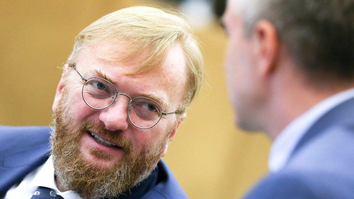 Депутат Милонов встал на путь борьбы с трансжирами