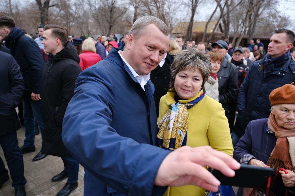В Астрахани ярко отметили пятилетие присоединения Крыма