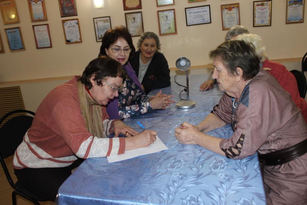 Астраханские пенсионеры отправились на поиски логики