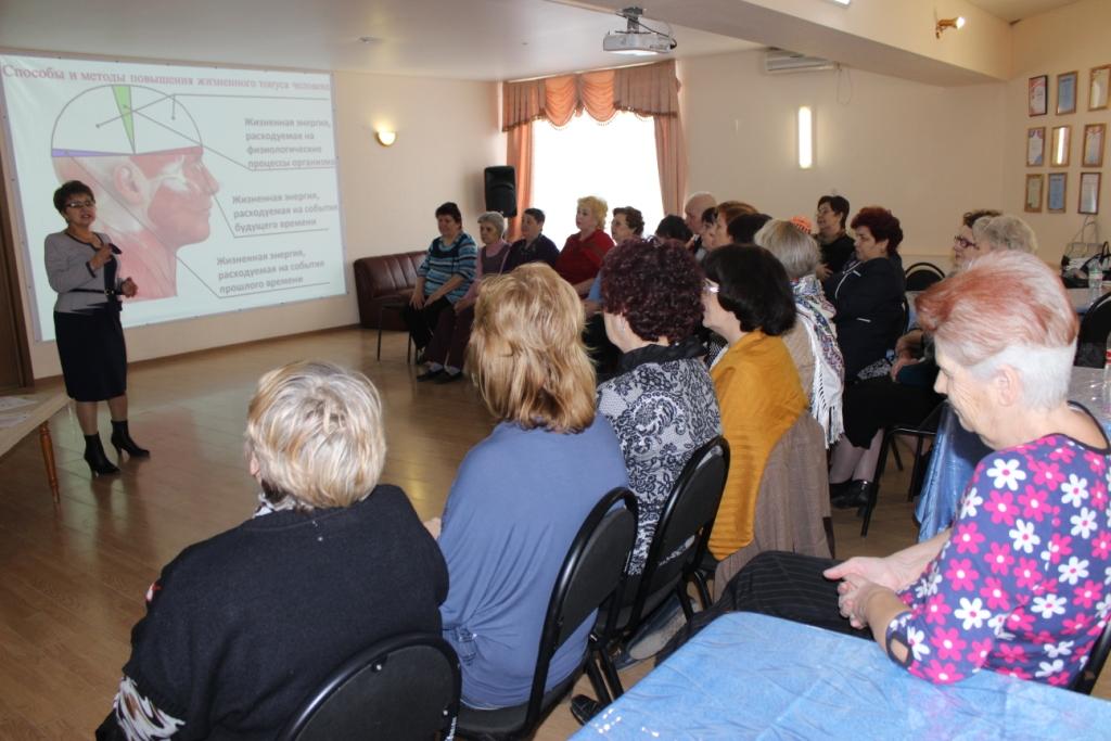 Астраханским пенсионерам повысили жизненный тонус