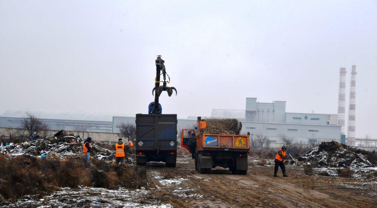 850 свалок ликвидировали в Астрахани с начала года