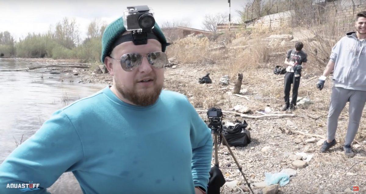 Астраханские блогеры убрались на берегу. Посмотрите этот выпуск