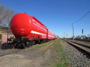 На станцию Верхний Баскунчак ПривЖД поступил новый пожарный поезд
