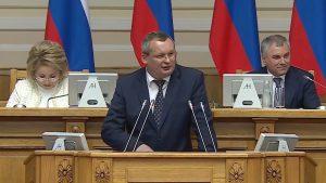 Спикер Астраханского парламента Игорь Мартынов рассказал, как помочь региональным бюджетам