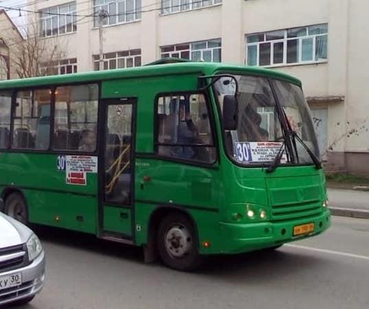 В микрорайон Астрахань-2 вернулся автобус