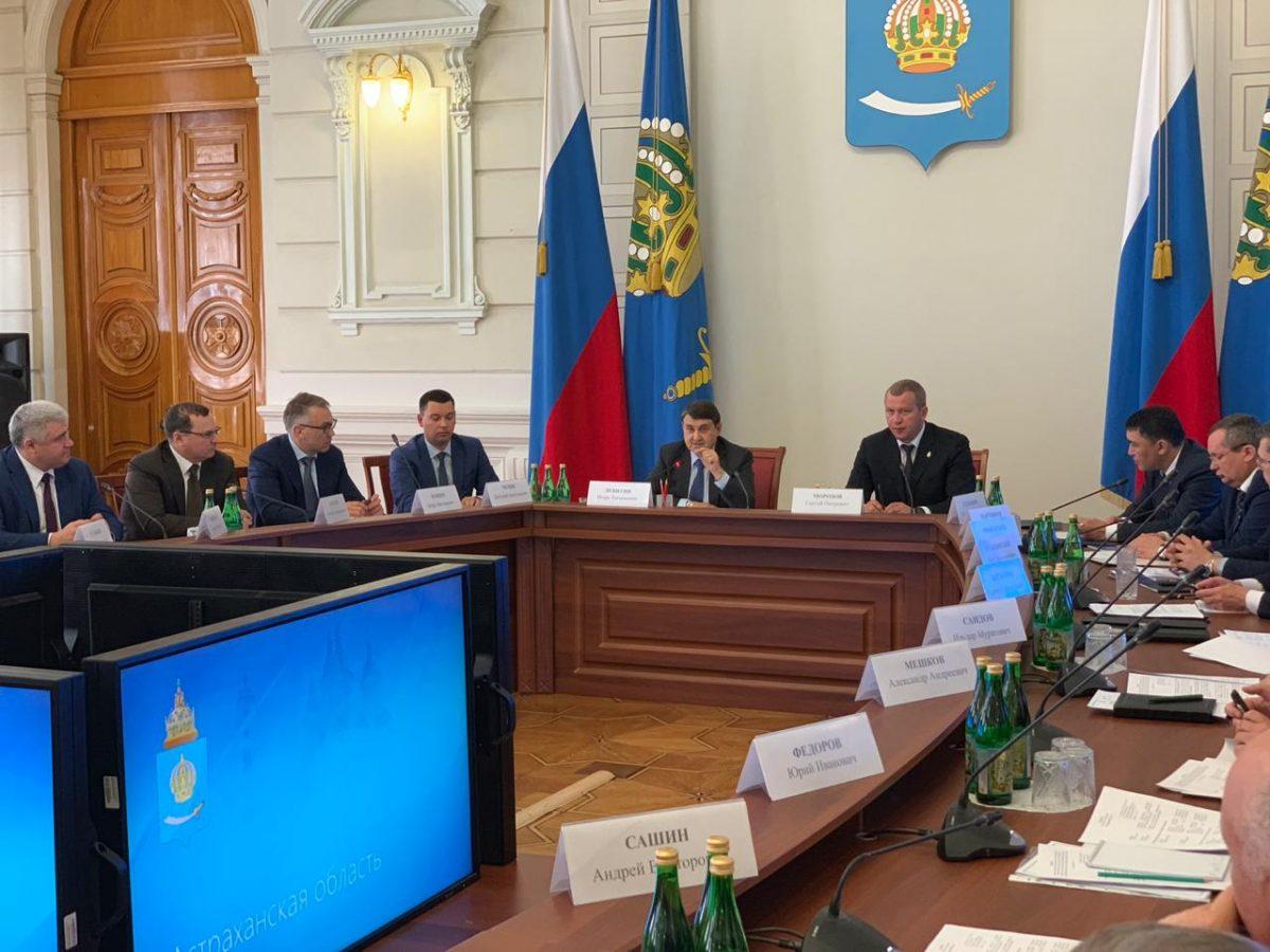 Игорь Левитин: «Нам очень важно усилить транспортное влияние на Каспии»