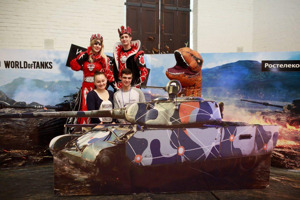 «Ростелеком» организовал кибертурнир по игре «World of Tanks» в Астрахани