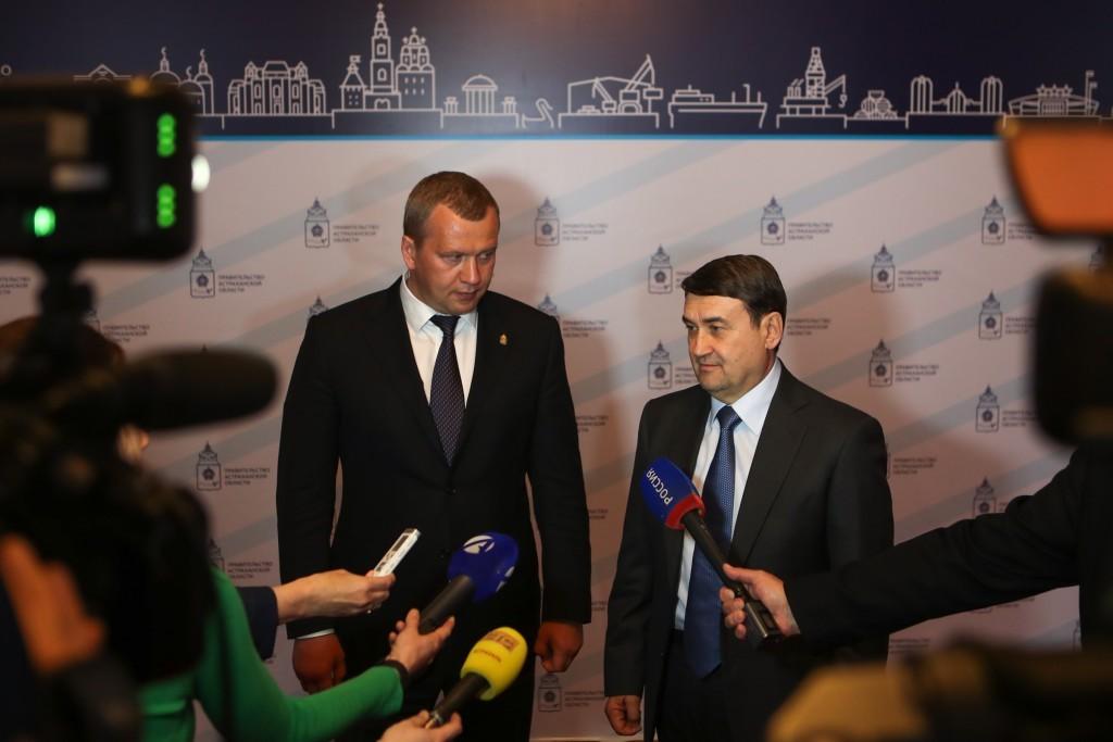 Сергей Морозов: Географическое положение Астраханской области очень конкурентно