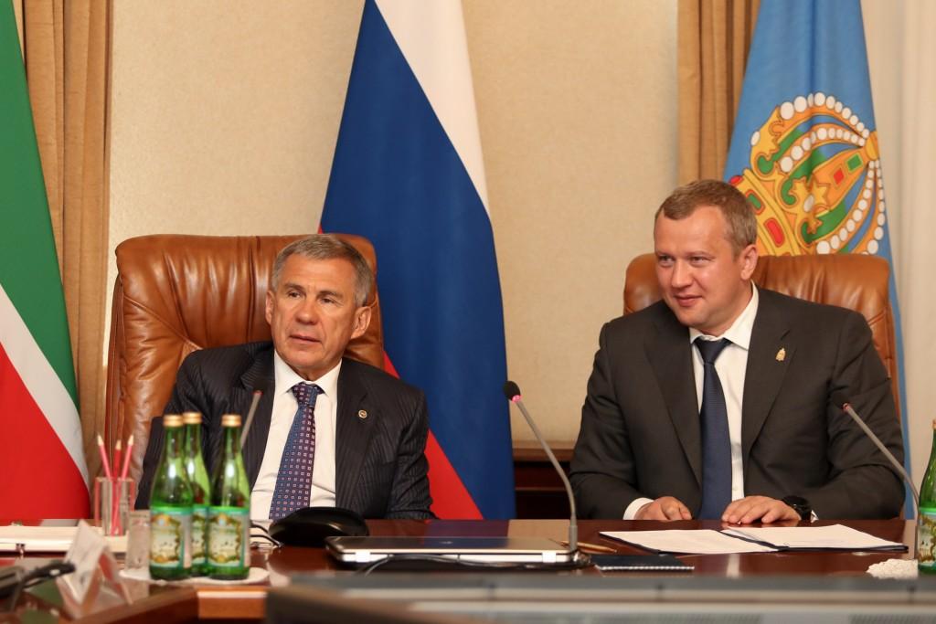 Рустам Минниханов: «У Астраханской области огромный потенциал развития»