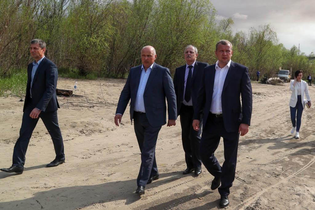Сергей Морозов неожиданно приехал на остров Городской