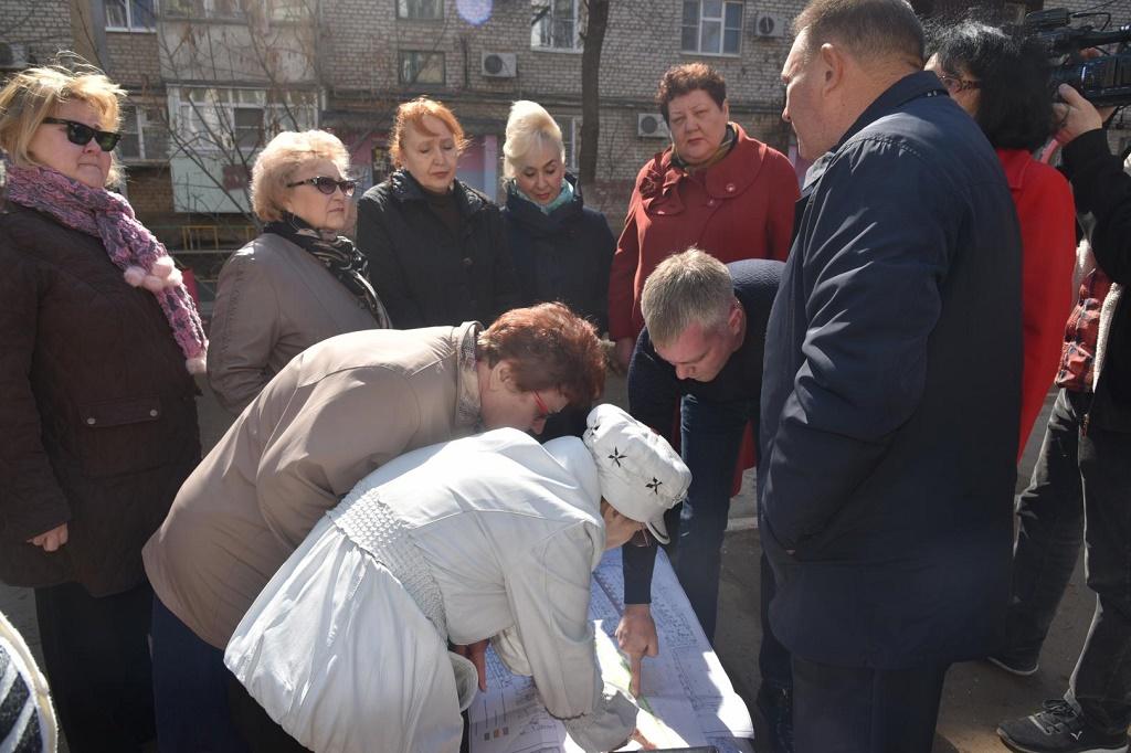 Астраханские чиновники начали консультироваться с населением по вопросам благоустройства
