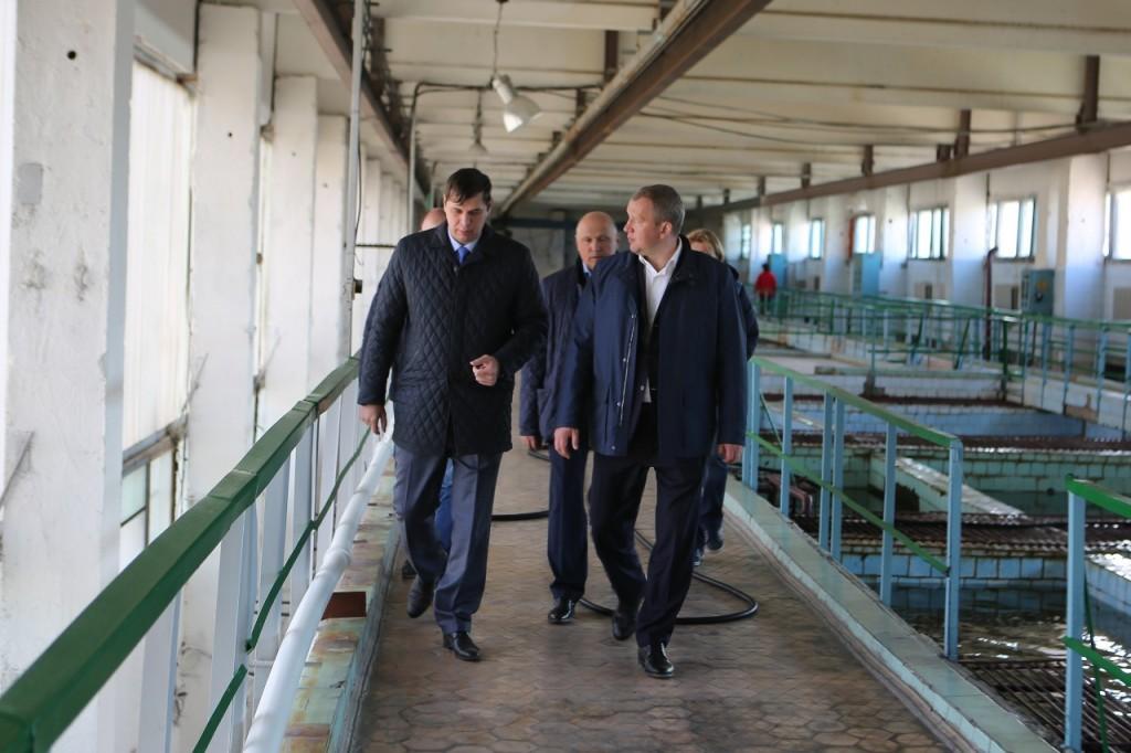 Астраханские очистные сооружения водопровода хотят модернизировать