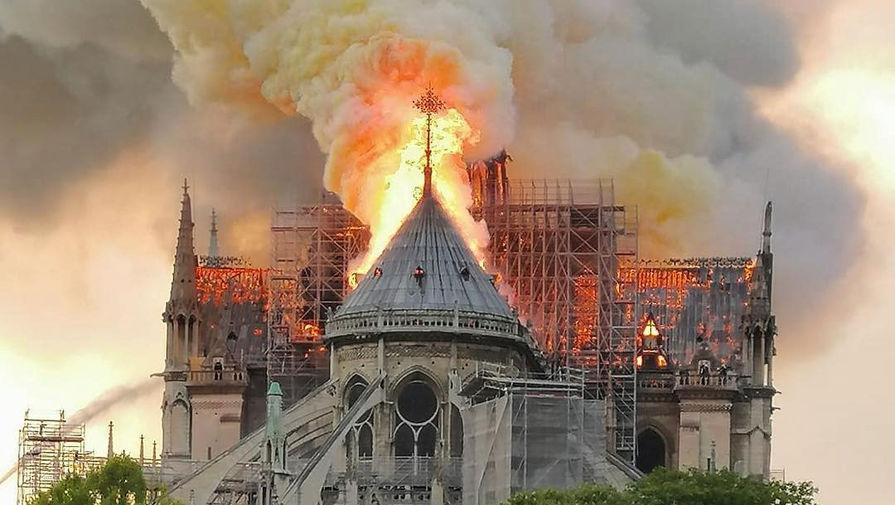 Минкульт России предлагает помочь восстановлению Собора Парижской Богоматери