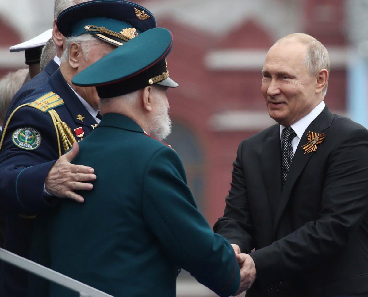 Ветеран поблагодарил Путина за возвращение Крыма