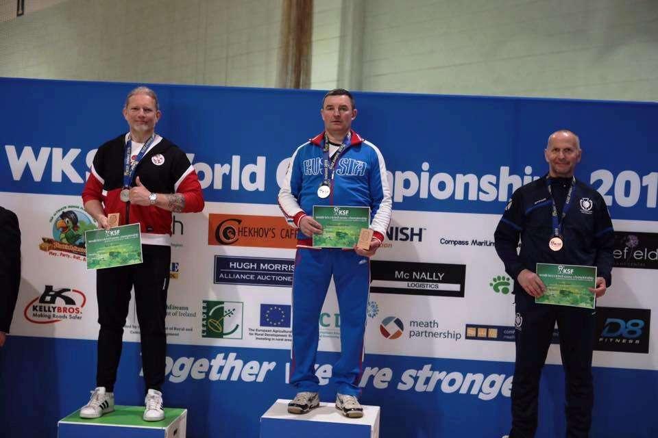 Астраханец победил в мировом турнире по гиревому спорту