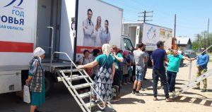 «Поезд здоровья» продолжает работать в Ахтубинском районе