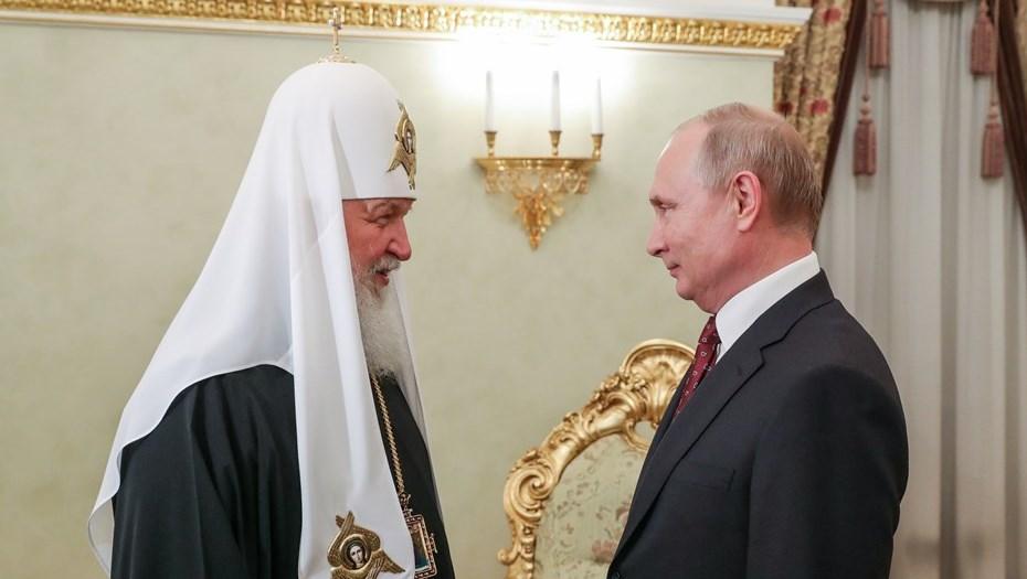 Президент посоветовал патриарху Кириллу больше отдыхать