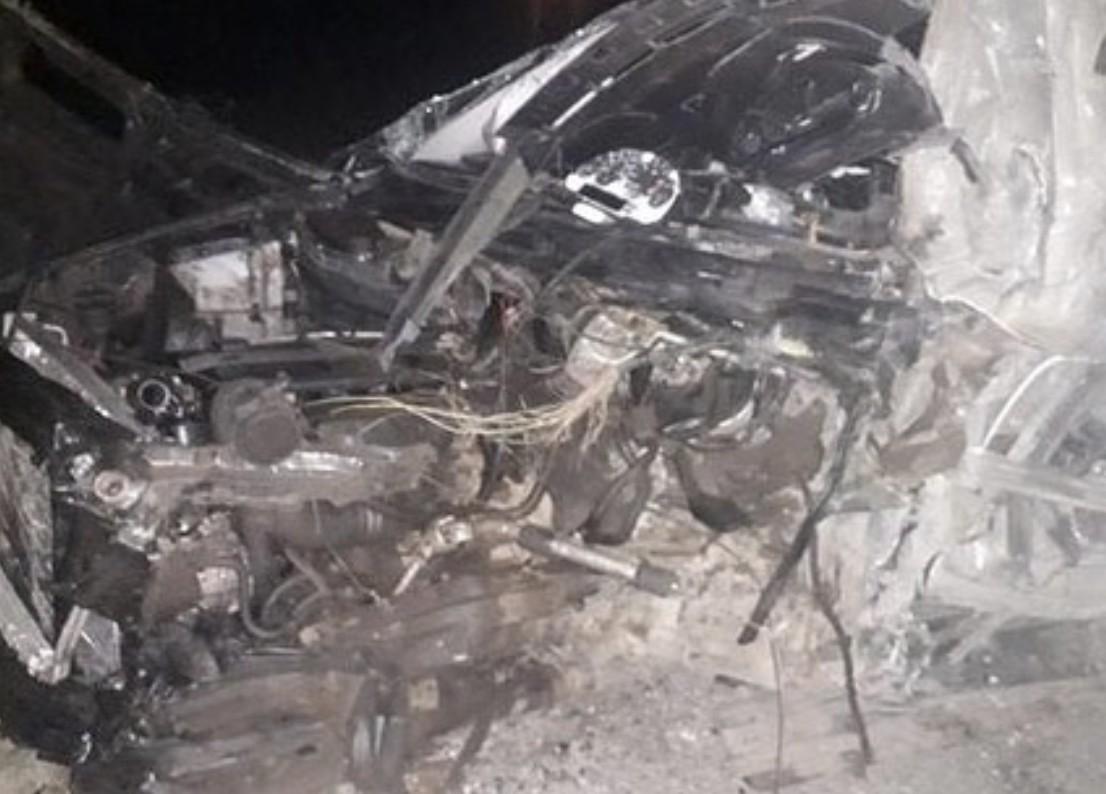 Полицейский погиб в аварии под Астраханью. Он вез пассажира в больницу