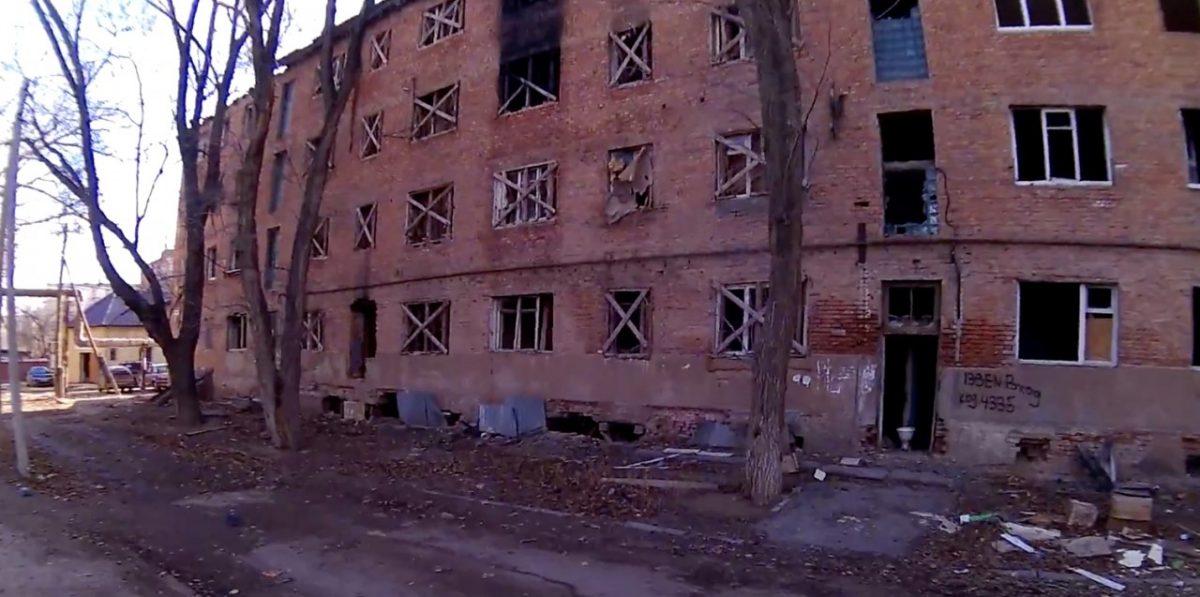 На улице Пороховой горело известное общежитие