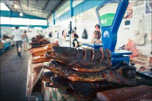 Астраханские продавцы воблы идут на все, чтобы продать рыбу