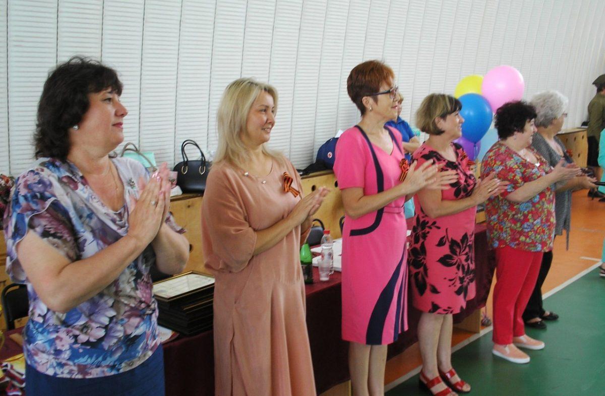 В Приволжском районе прошла спартакиада для пожилых людей