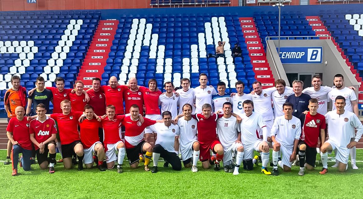 Три астраханских врача вошли в сборную России по футболу