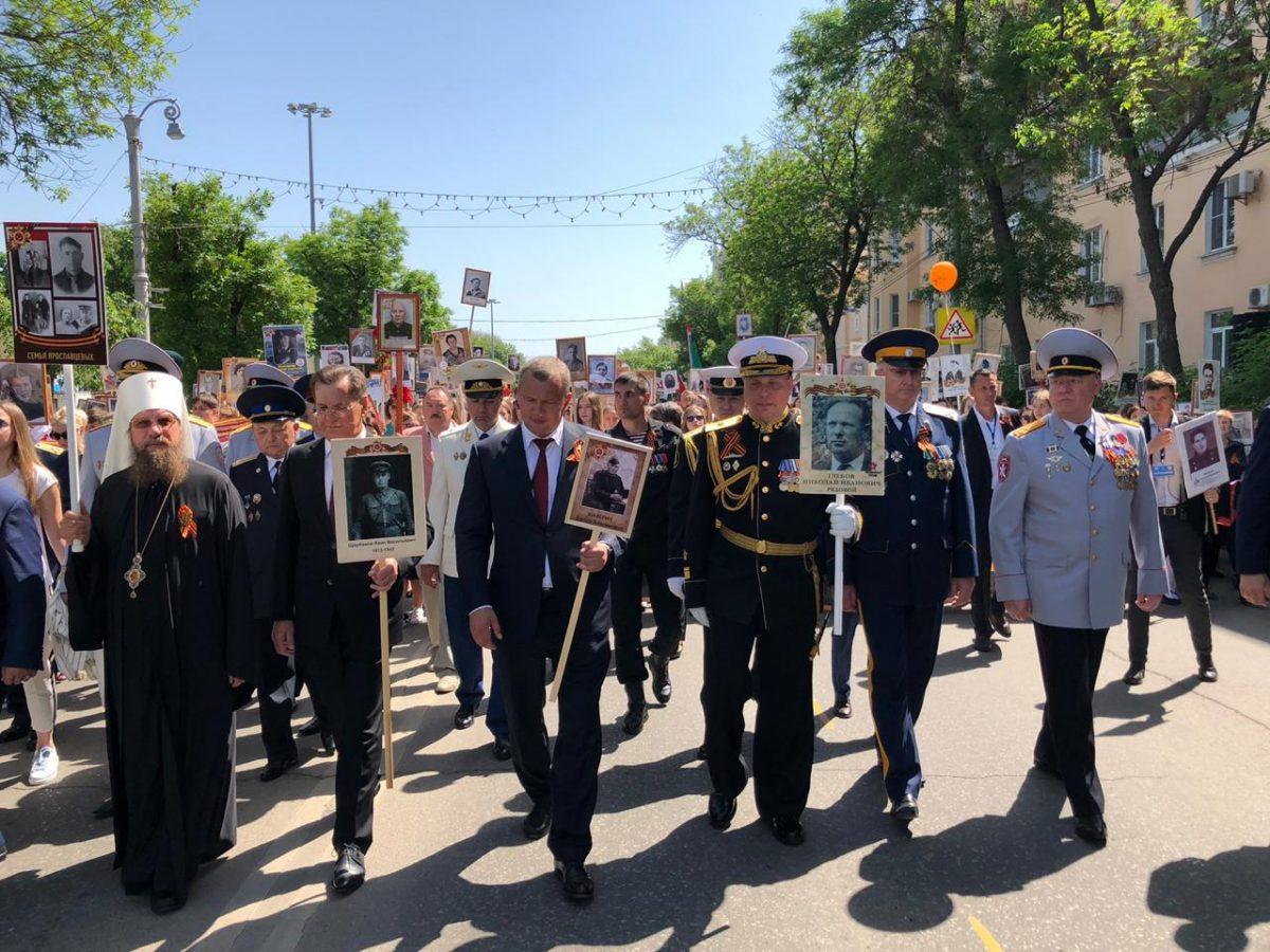 «Бессмертный полк» в Астрахани собрал 27 тысяч участников