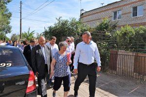 Сергей Морозов и Радик Харисов оценили положение дел в Трусовском районе