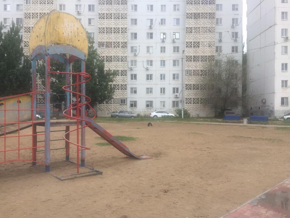 В микрорайоне Бабаевского пропала детская площадка