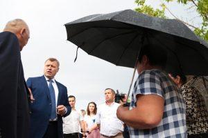 Жительницы села Маячное «подставили» главу Красноярского района
