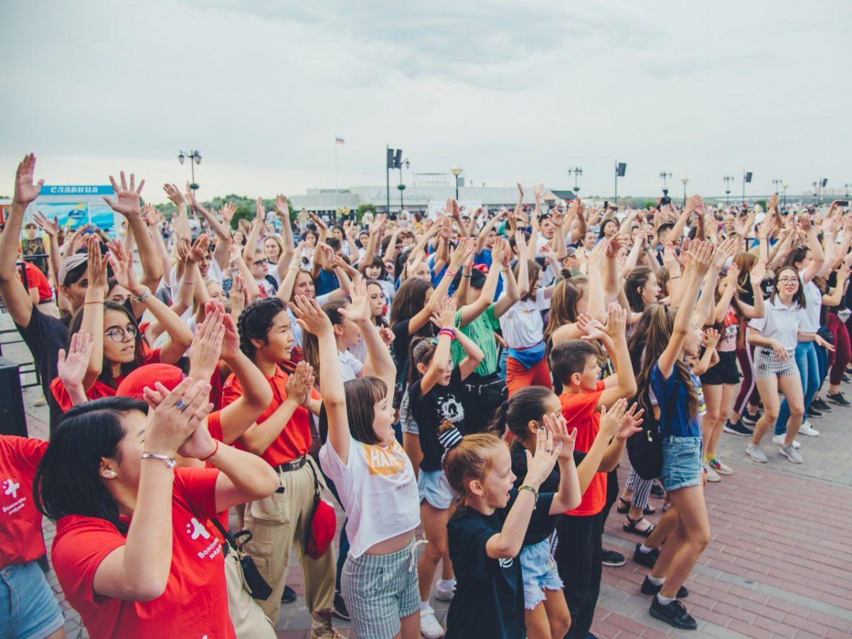 Астраханская молодежь отметила свой праздник с размахом