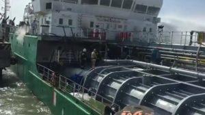 Астраханский моряк скончался в реанимации после взрыва в Махачкалинском порту