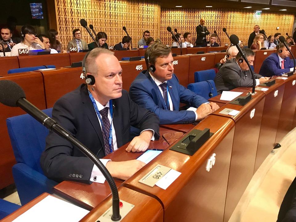 Сенатор Башкин о работе российской делегации в ПАСЕ: «Обстановка непростая»