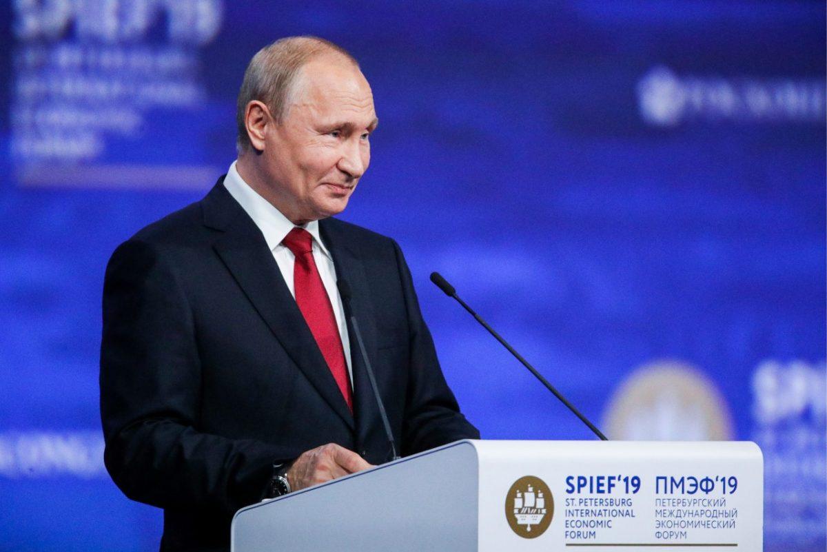 Владимир Путин призвал бизнесменов не воровать