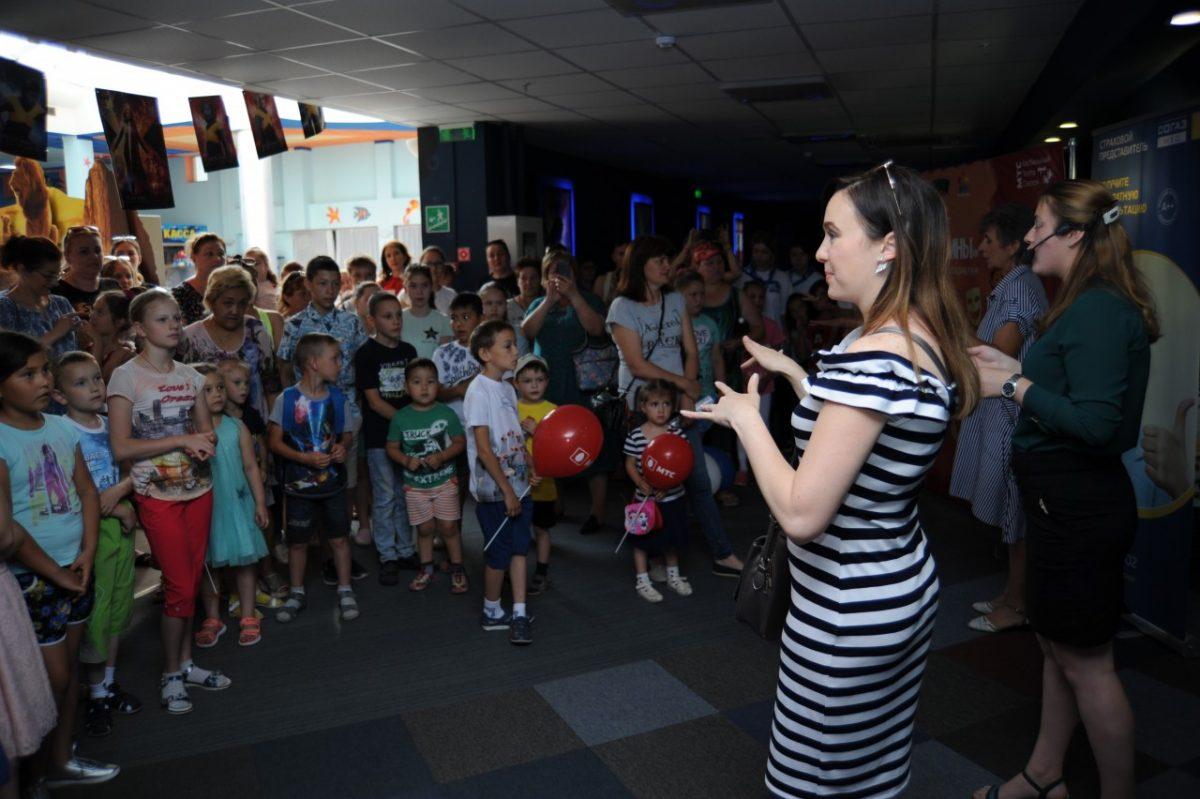 В Астрахани прошел уникальный детский инклюзивный спектакль об интернет-безопасности