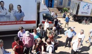 «Поезд здоровья» побывал уже в пяти районах Астраханской области