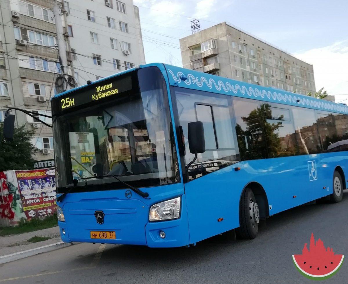На улицы Астрахани вышли новые автобусы