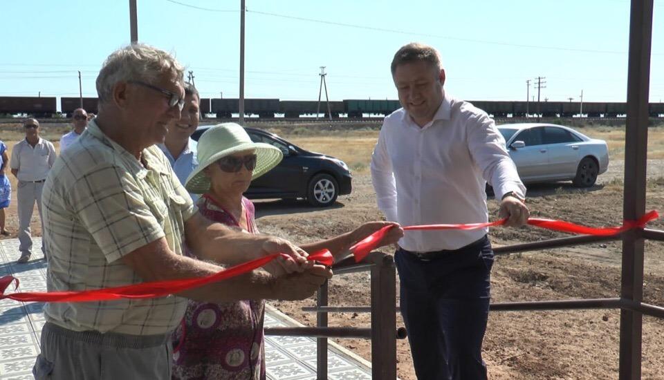 В поселке Верблюжий Астраханской области открыт новый ФАП