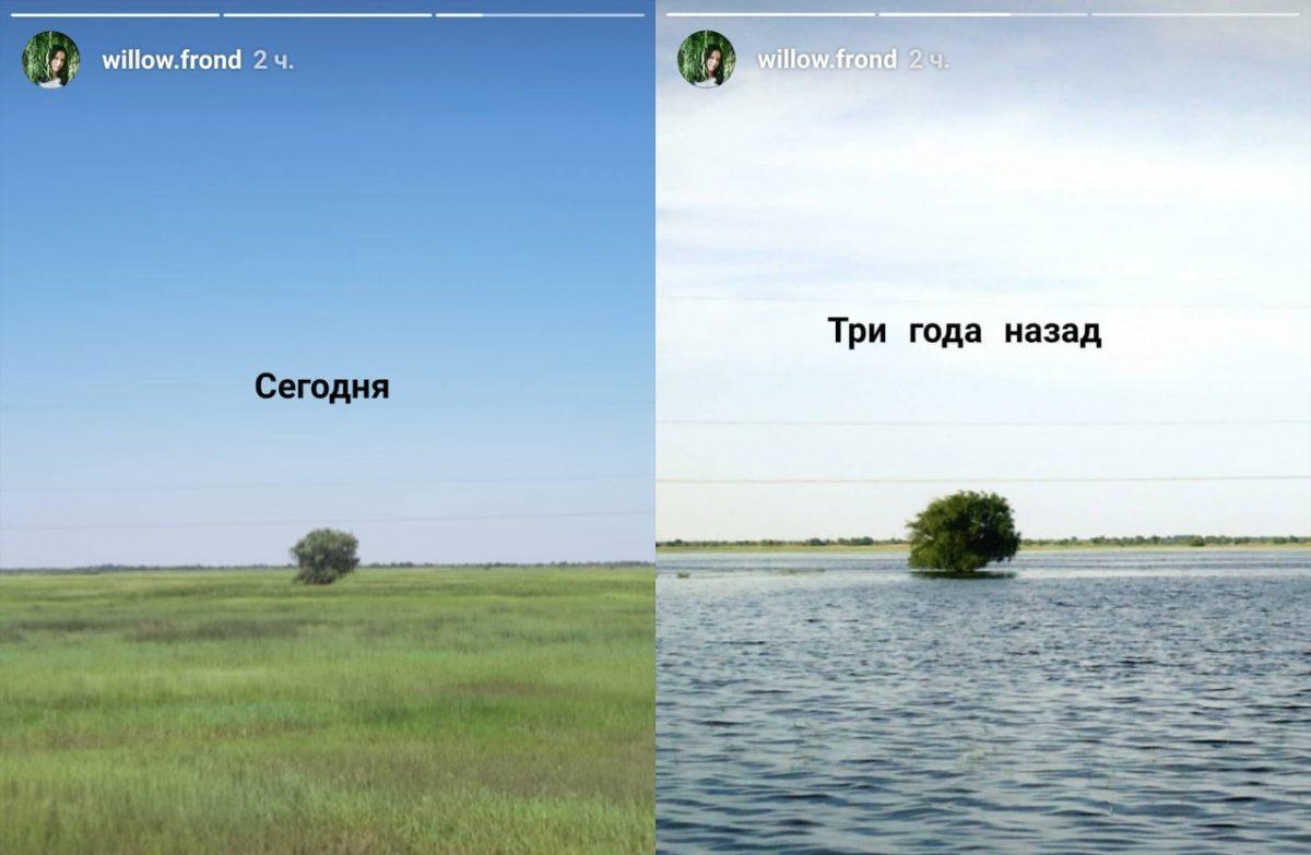Все об астраханском паводке этого года в двух картинках