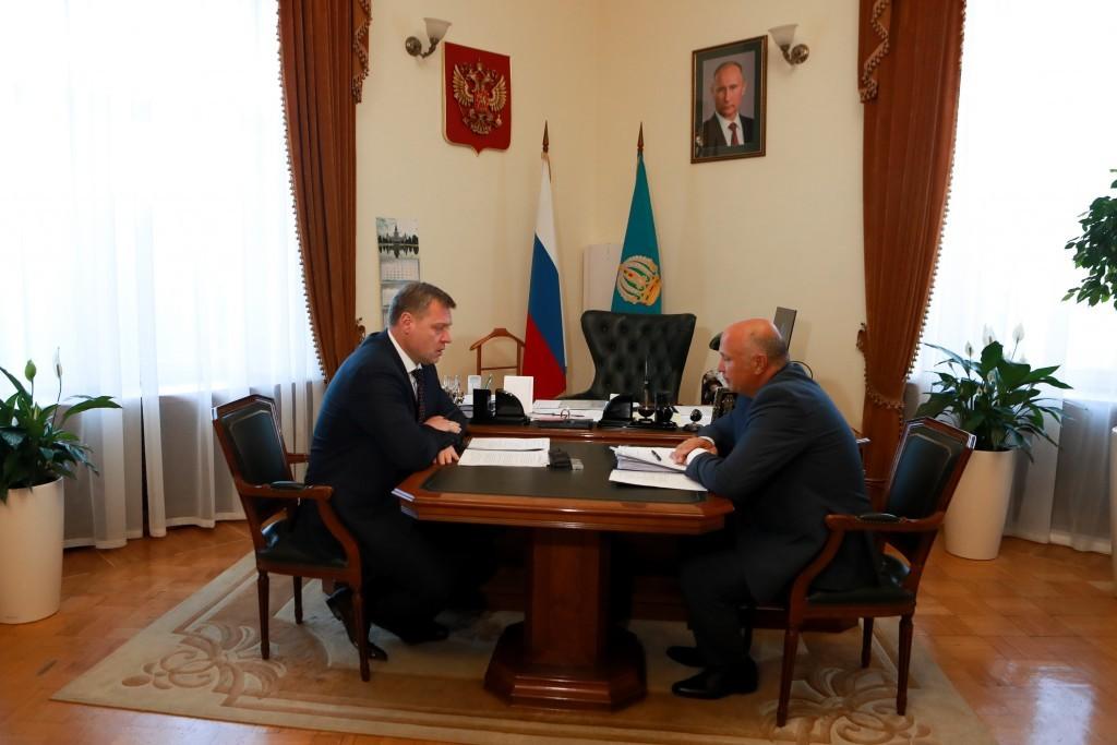 Радик Харисов рассказал Игорю Бабушкину о ремонте дворов