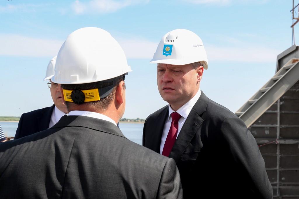 Игорь Бабушкин оценил работу судостроителей завода «Лотос»