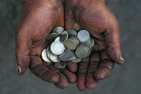 Каждый пятый россиянин жалуется на снижение зарплаты