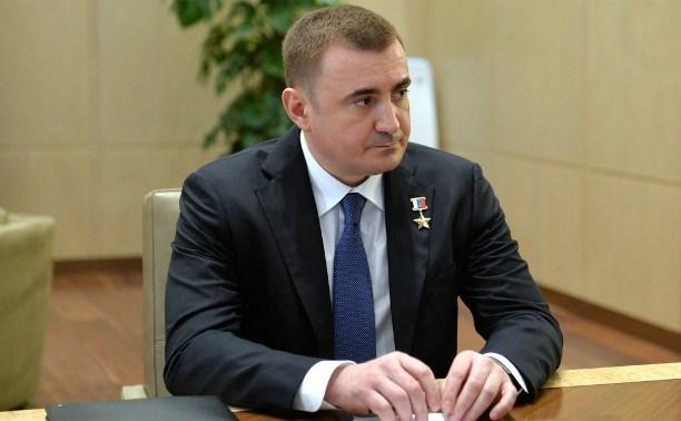 Губернатор Тульской области похвалил Сергея Морозова