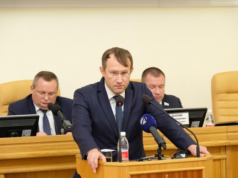 Виталий Шведов будет временно исполнять обязанности главы правительства АО