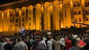 Революция, которой нет: астраханская журналистка о настроениях в Тбилиси