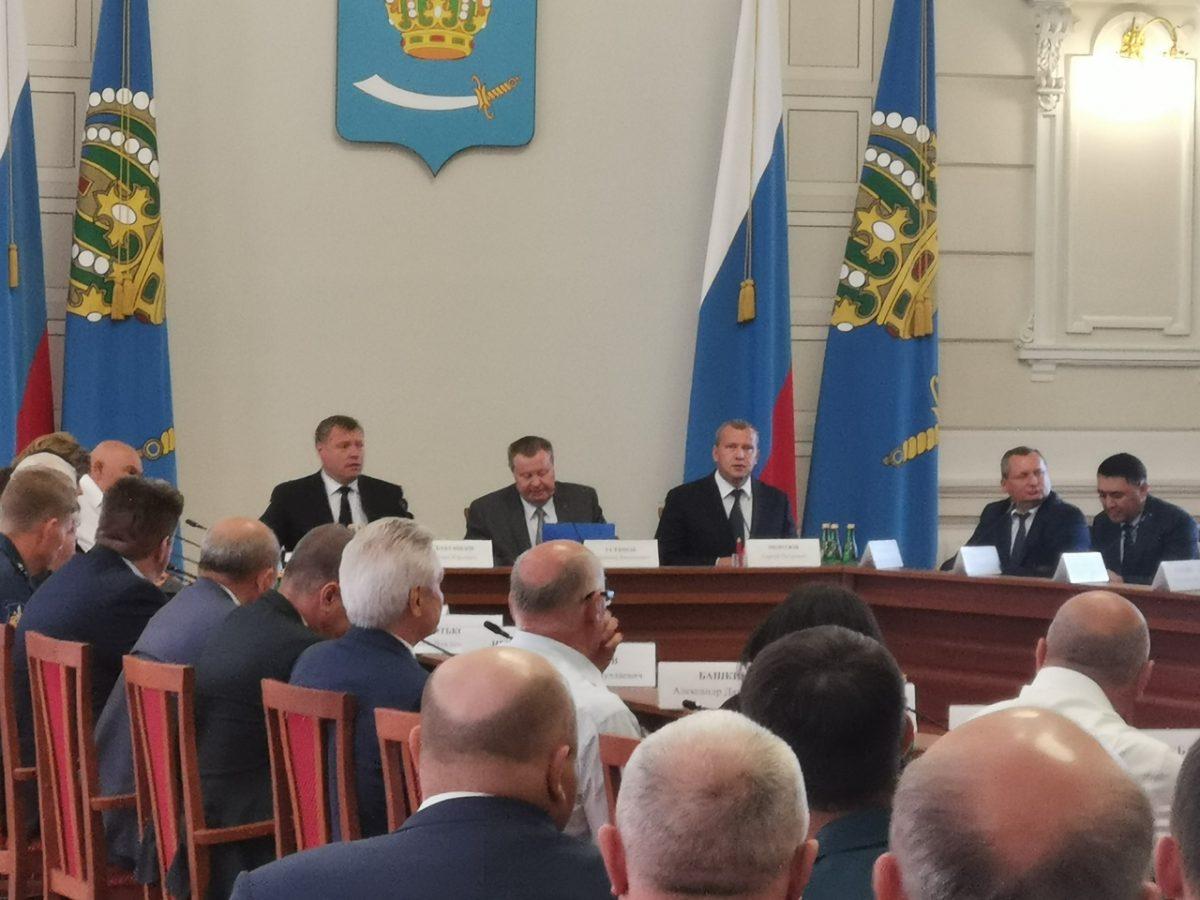 Нового врио главы Астраханской области представили общественности