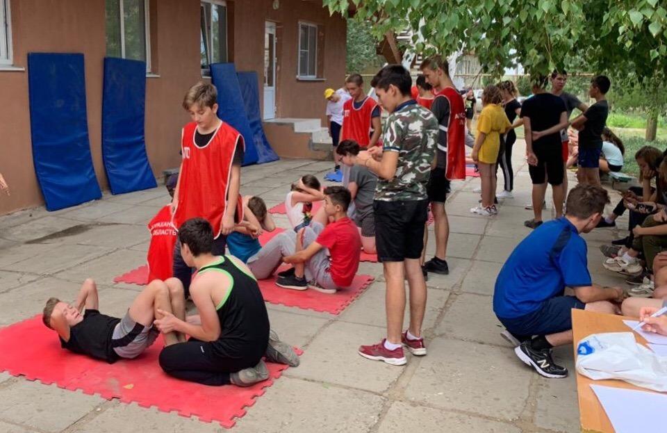 Астраханцы активно сдают нормативы ГТО
