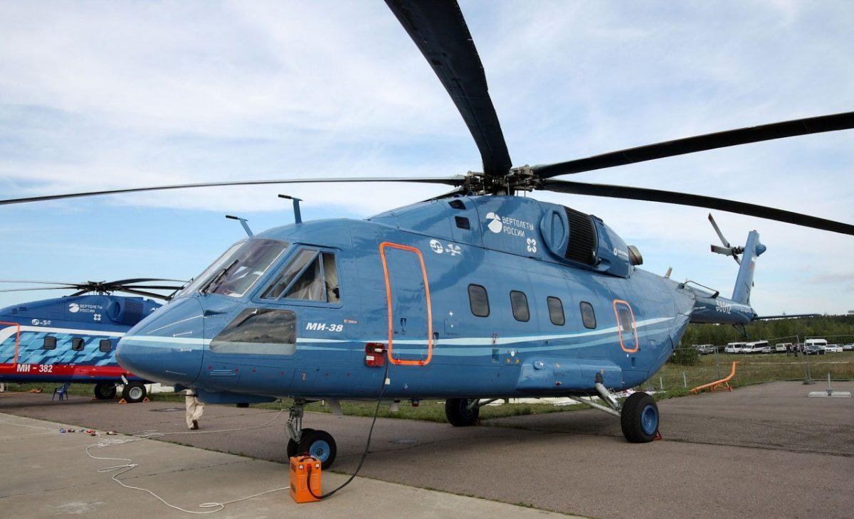 Астраханская жара стала испытанием для отечественных вертолетов