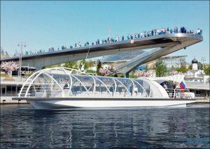 Астраханская область заинтересовалась новыми речными трамвайчиками