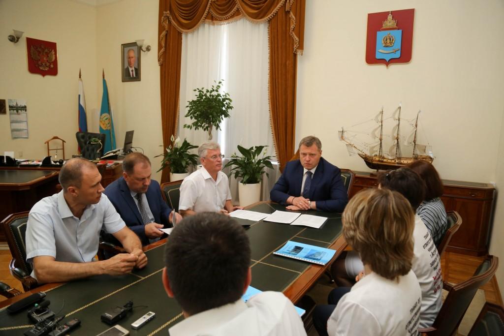 Игорь Бабушкин лично встретился с обманутыми дольщиками